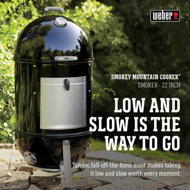 Weber Smokey Mountain Low and Slow