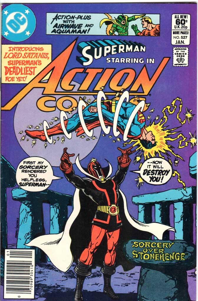 Action Comics (1938) #527 MJ