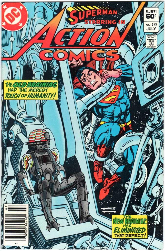 Action Comics (1938) #545 MJ