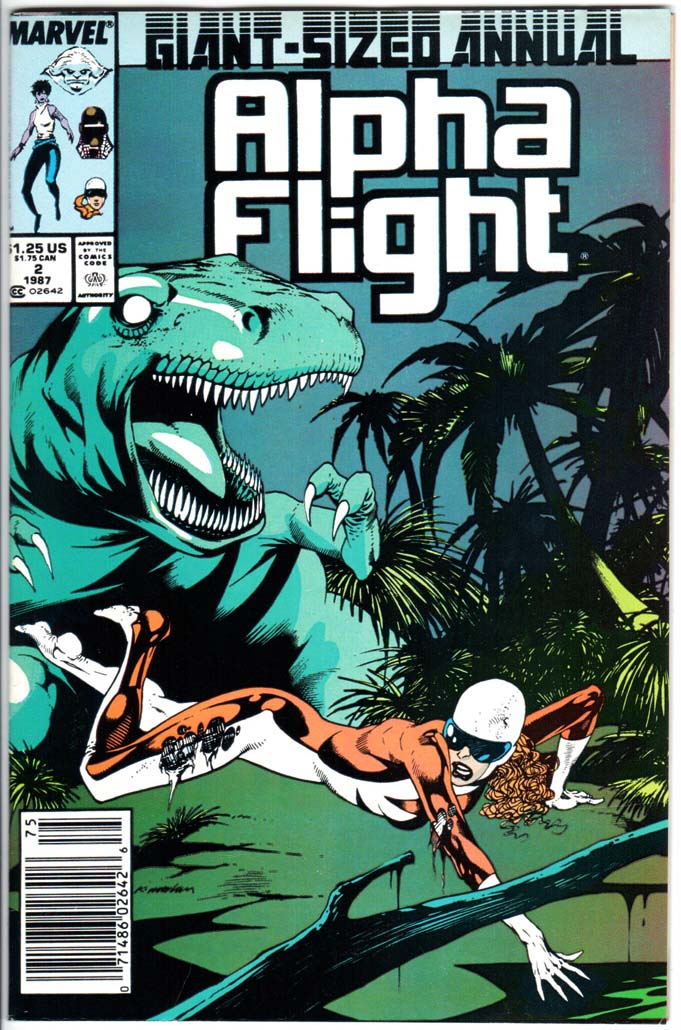 Alpha Flight (1983) Annual #2