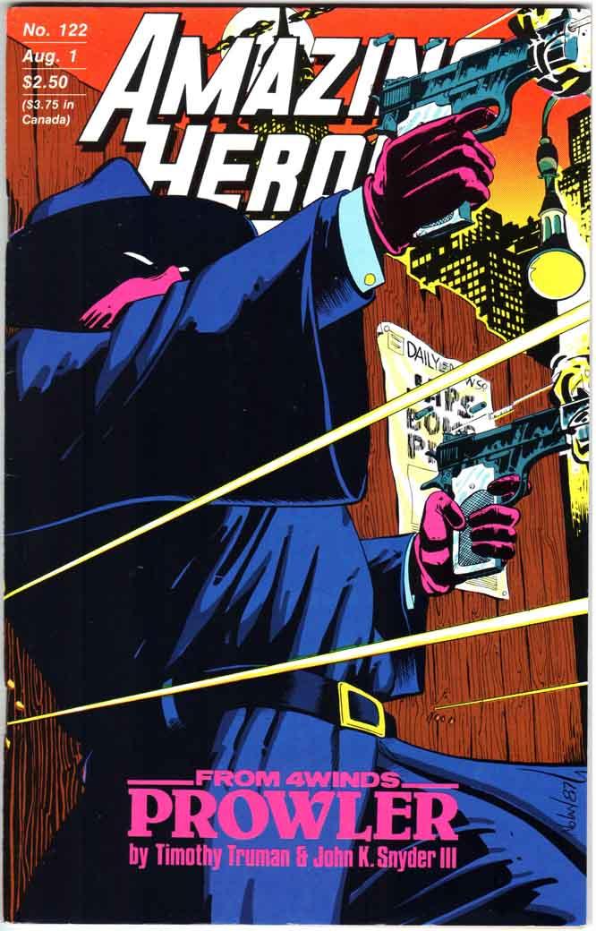 Amazing Heroes (1981) #122