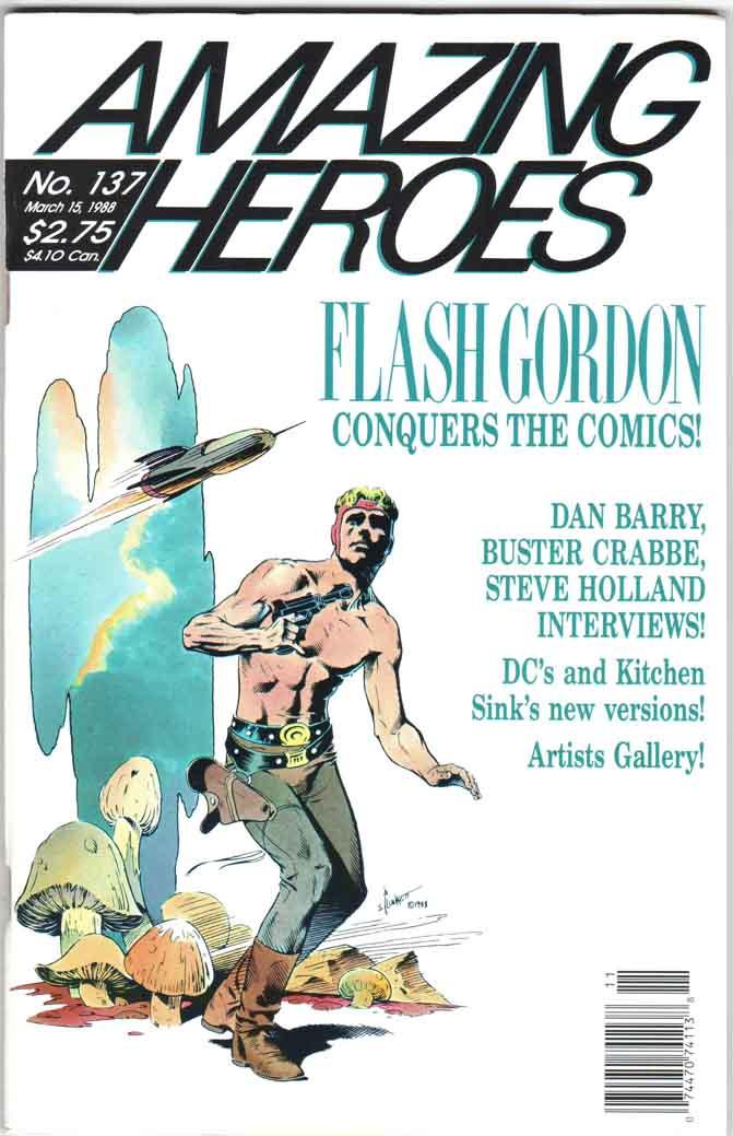 Amazing Heroes (1981) #137