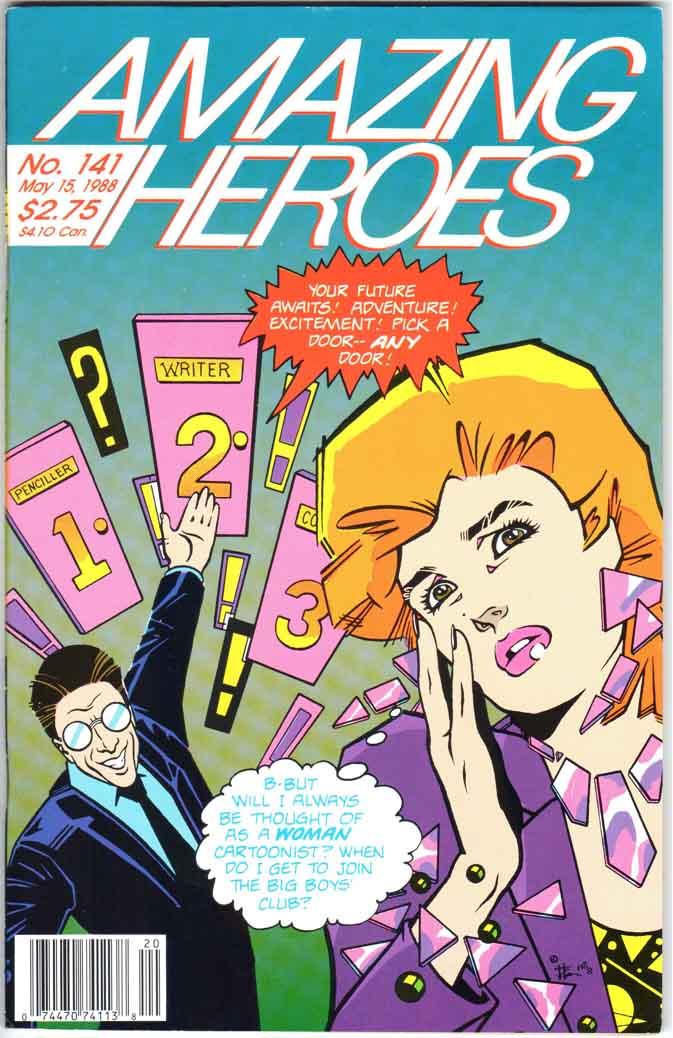 Amazing Heroes (1981) #141