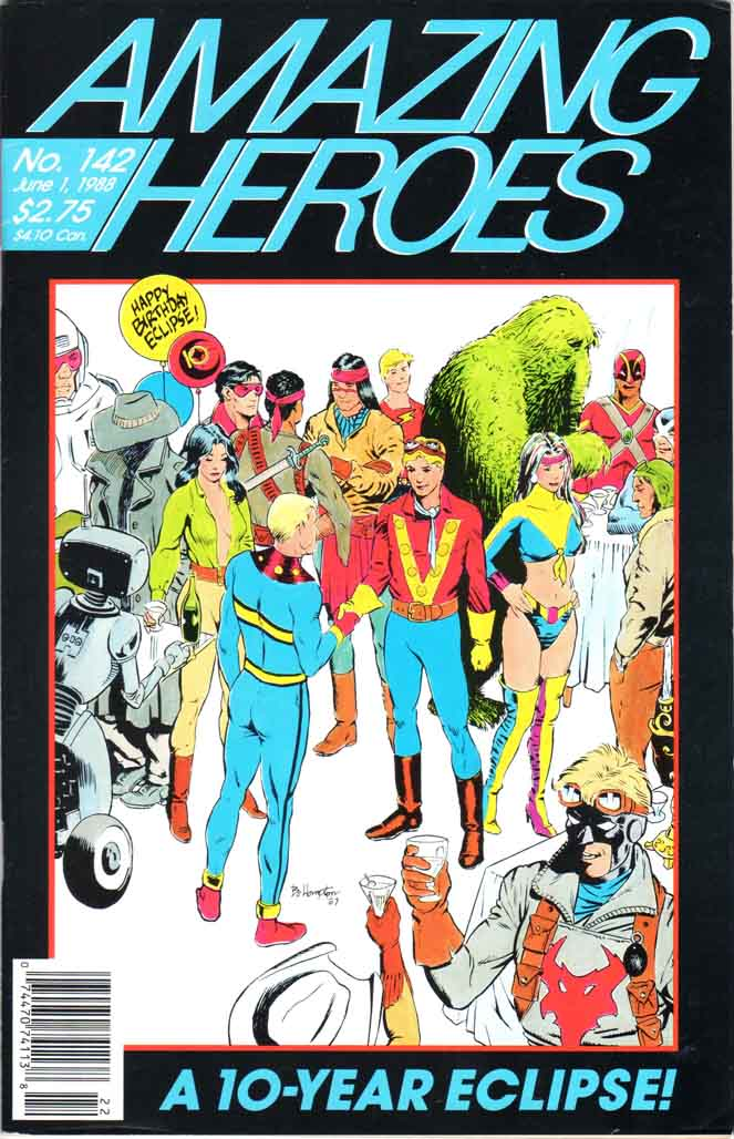 Amazing Heroes (1981) #142