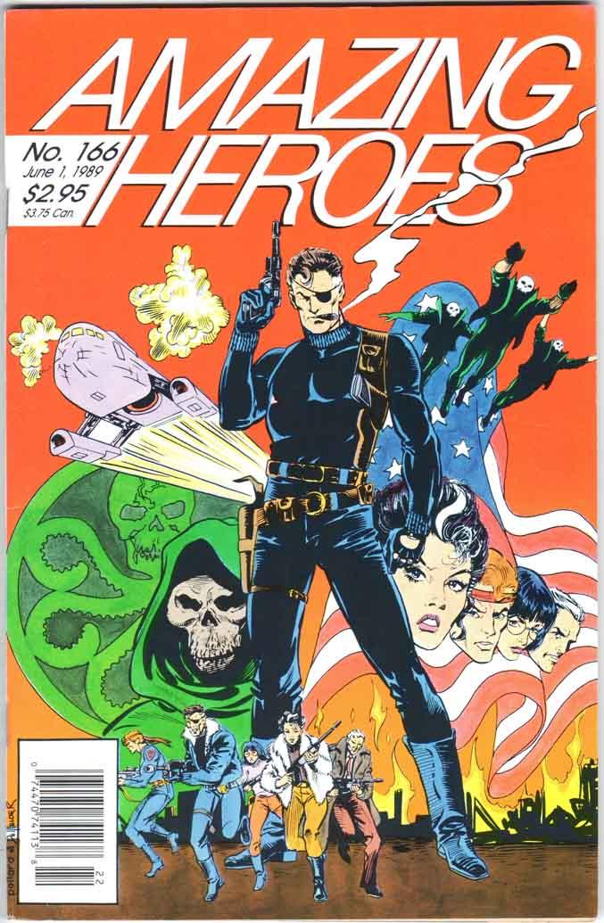 Amazing Heroes (1981) #166