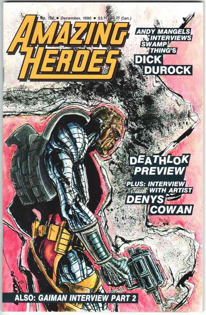 Amazing Heroes (1981) #186
