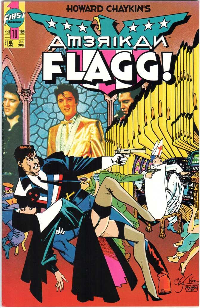 American Flagg (1988) #10