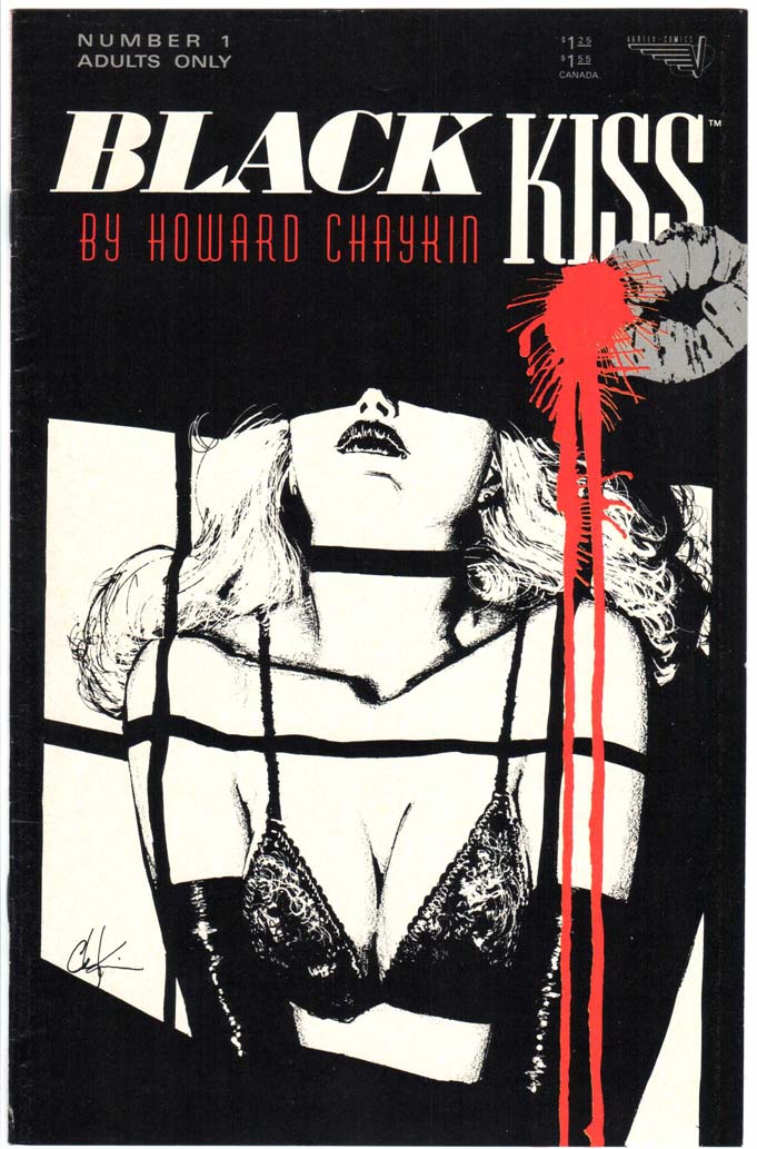 Black Kiss (1988) #1