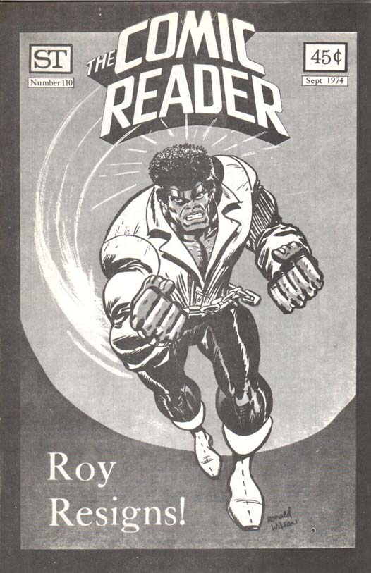The Comic Reader (1961) #110