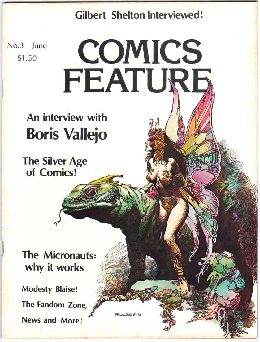 Comics Feature Magazine (1980) #3