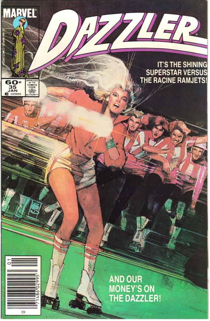 Dazzler (1981) #35 MJ