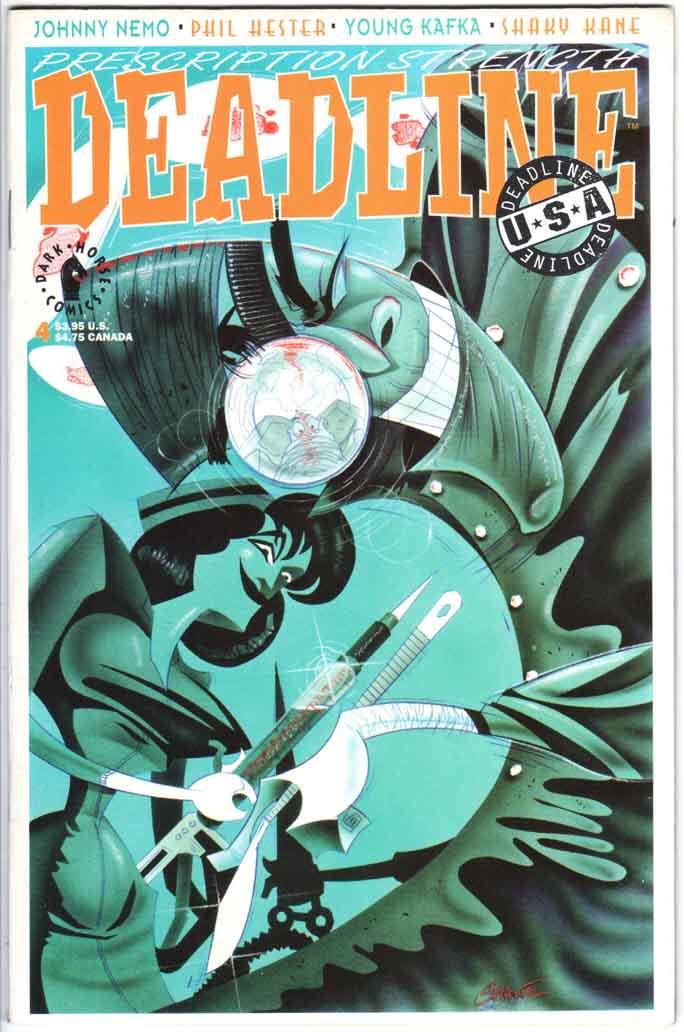 Deadline USA (1992) #4
