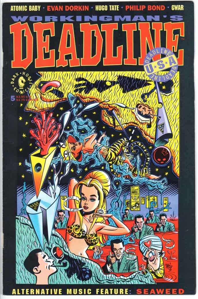 Deadline USA (1992) #5