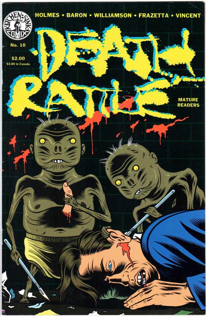 Death Rattle (1985) #10