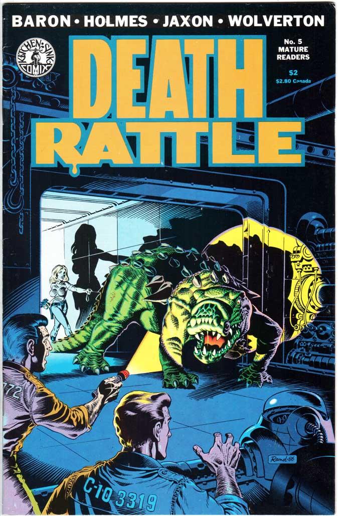 Death Rattle (1985) #5