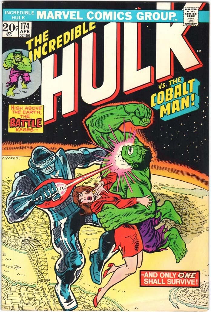 Incredible Hulk (1962) #174 MJ