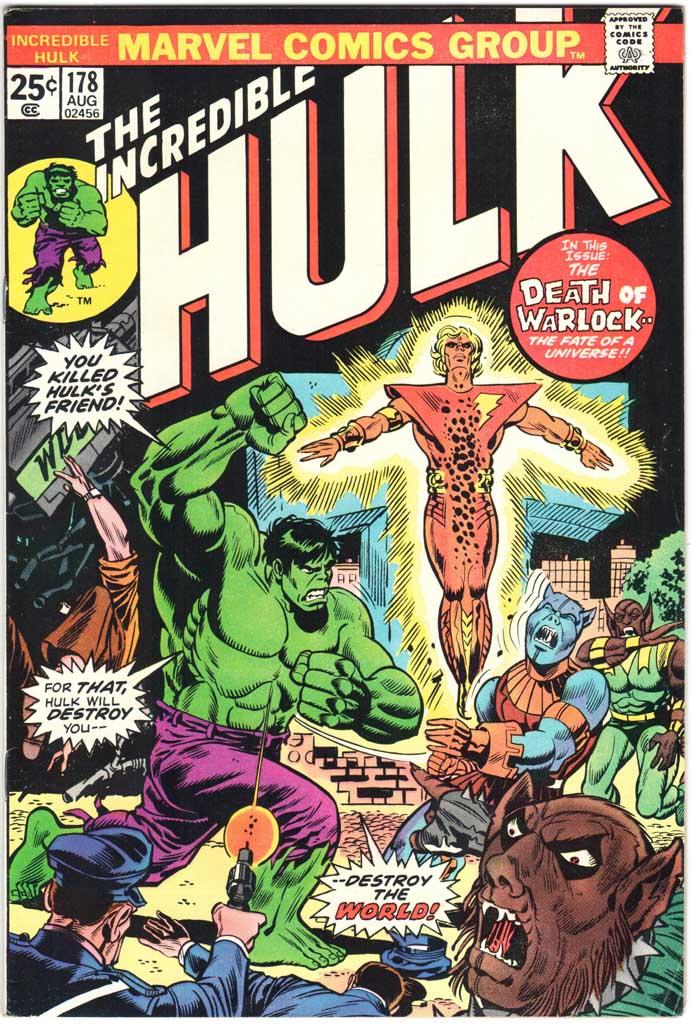 Incredible Hulk (1962) #178 MJ