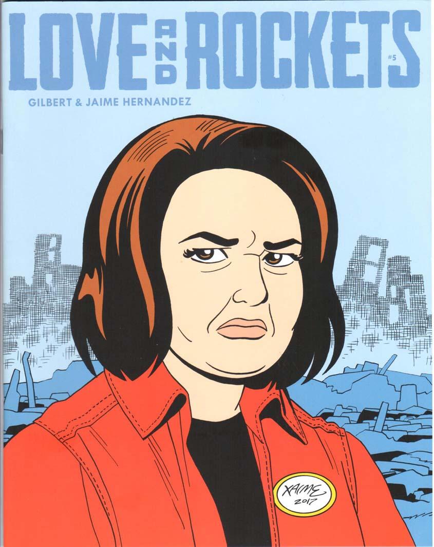 Love and Rockets Magazine (2016) #5