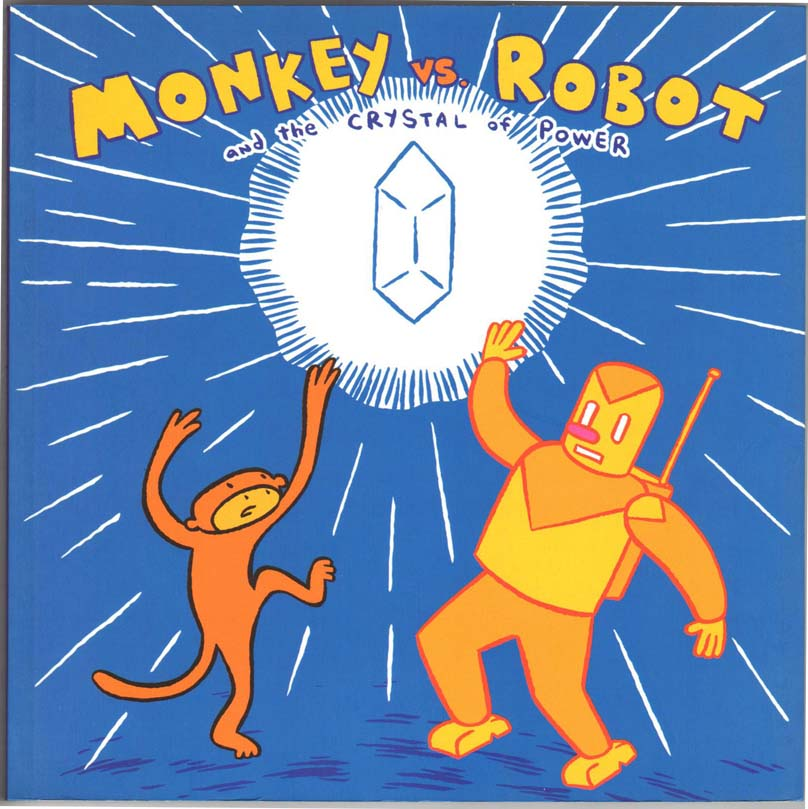 Monkey vs. Robot GN (2003) #1