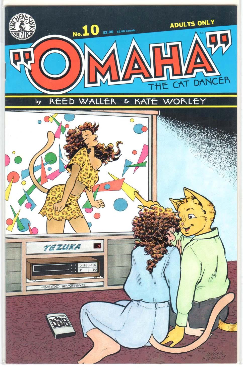Omaha the Cat Dancer (1986) #10