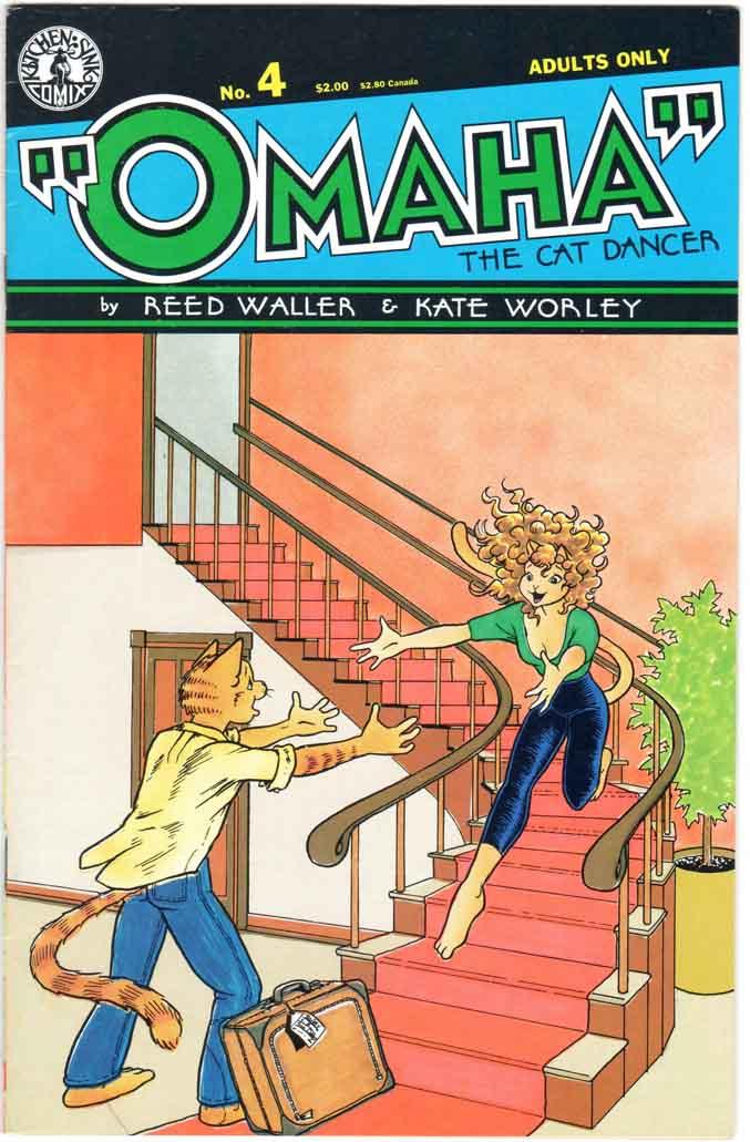 Omaha the Cat Dancer (1986) #4