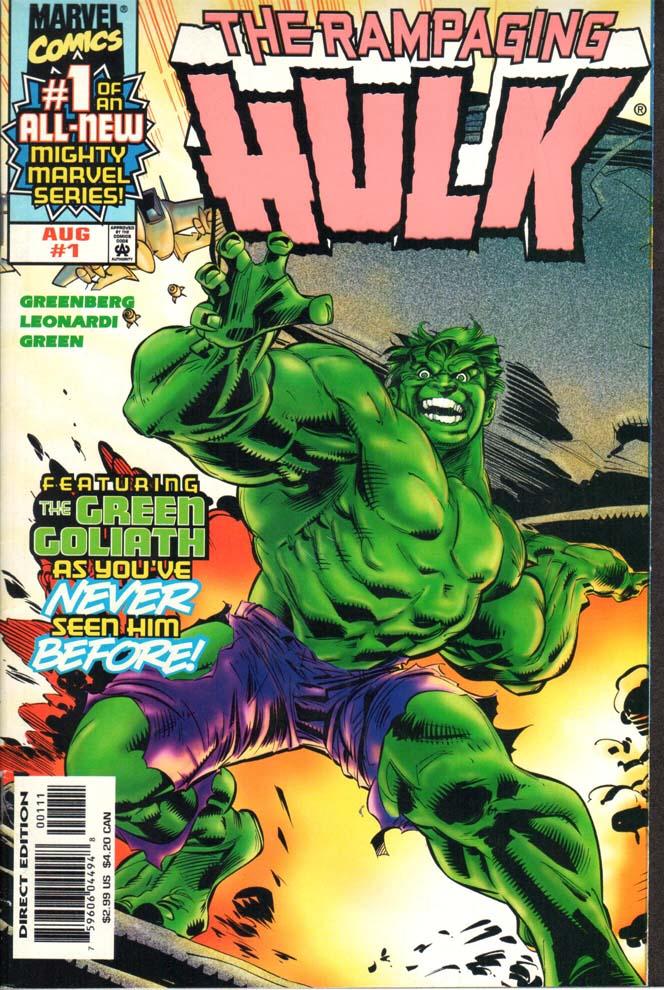Rampaging Hulk (1998) #1