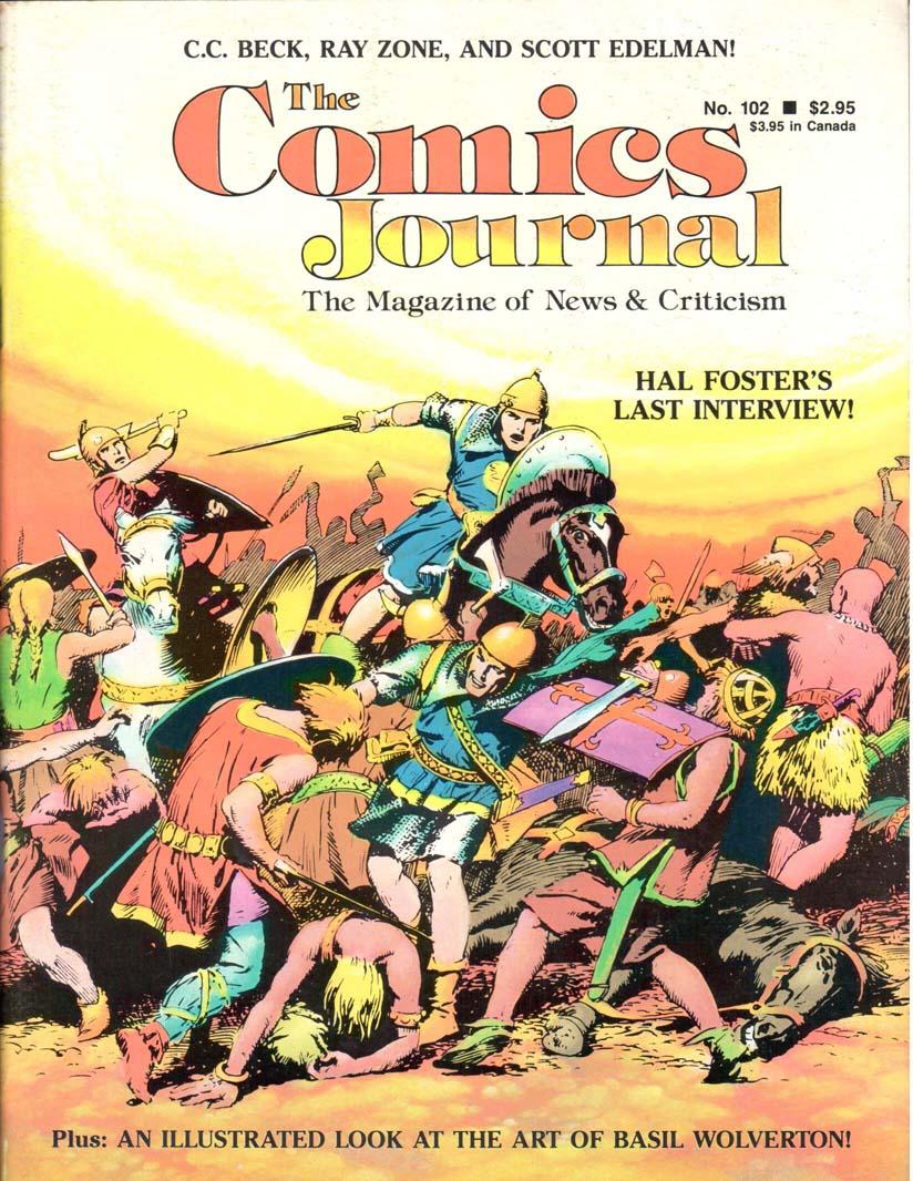 Comics Journal (1977) #102