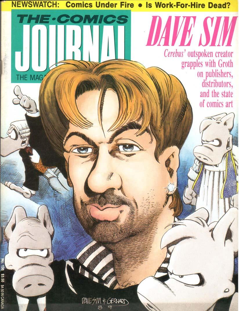 Comics Journal (1977) #130