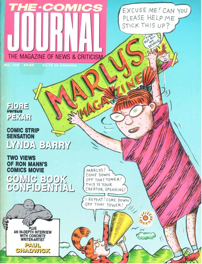 Comics Journal (1977) #132