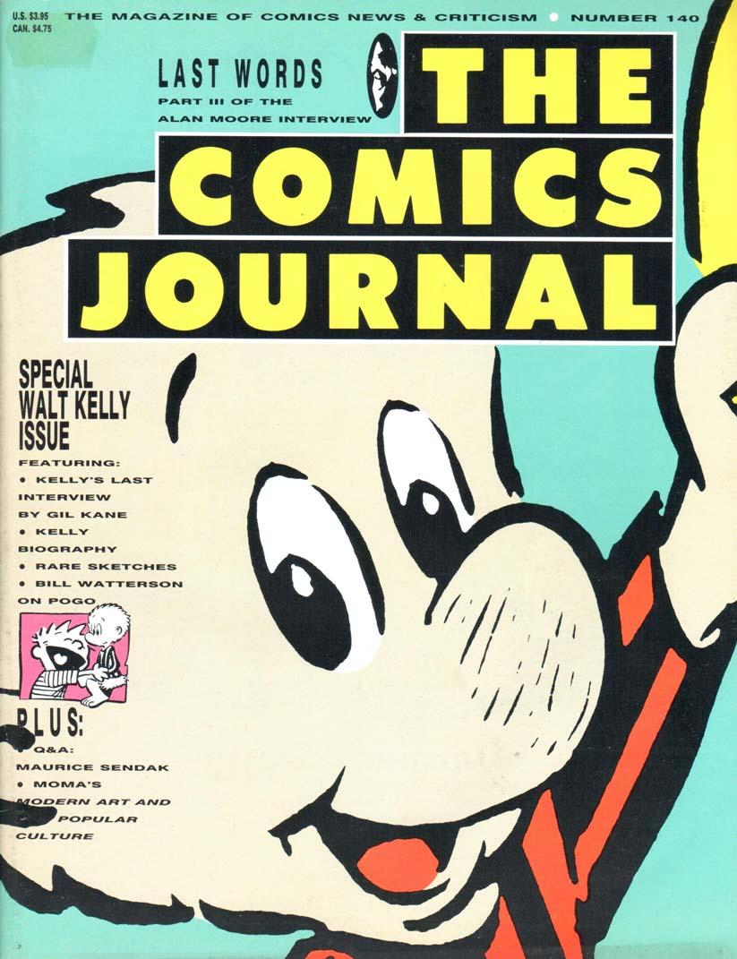 Comics Journal (1977) #140