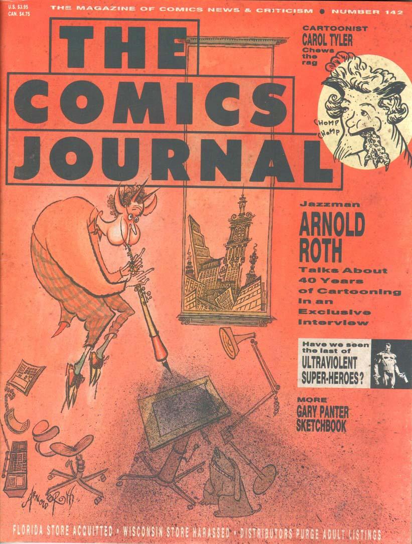 Comics Journal (1977) #142