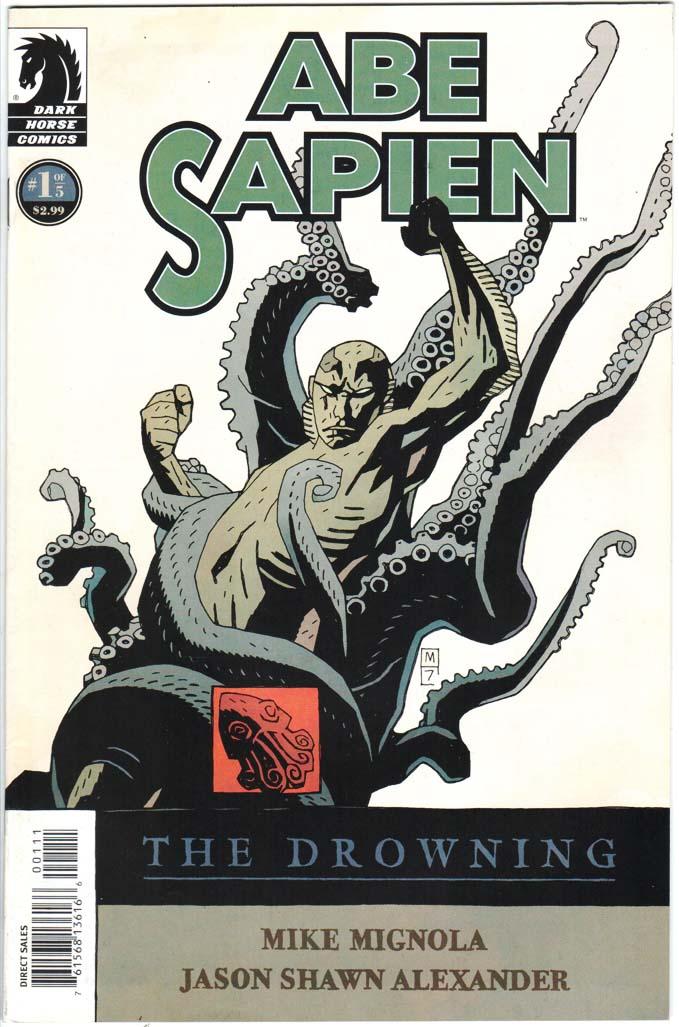 Abe Sapien: The Drowning (2008) #1 – 5 (SET)