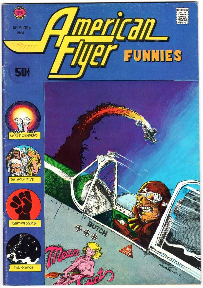 American Flyer Funnies (1971) #1