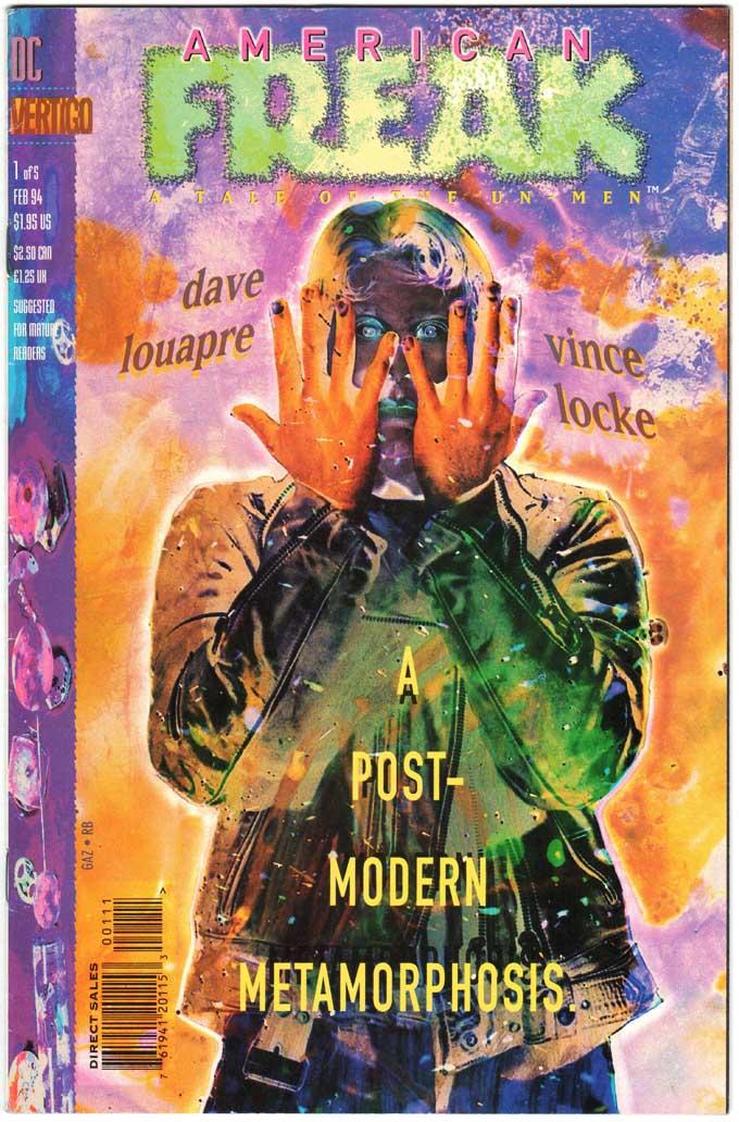 American Freak (1994) #1 – 5 (SET)