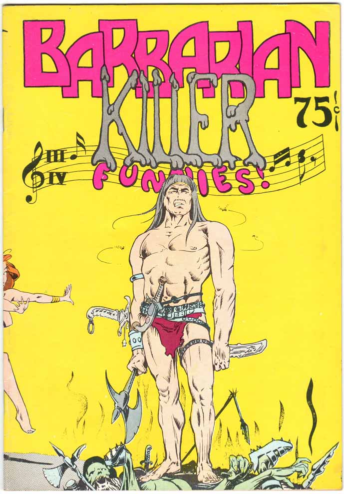 Barbarian Killer Funnies (1974) #1