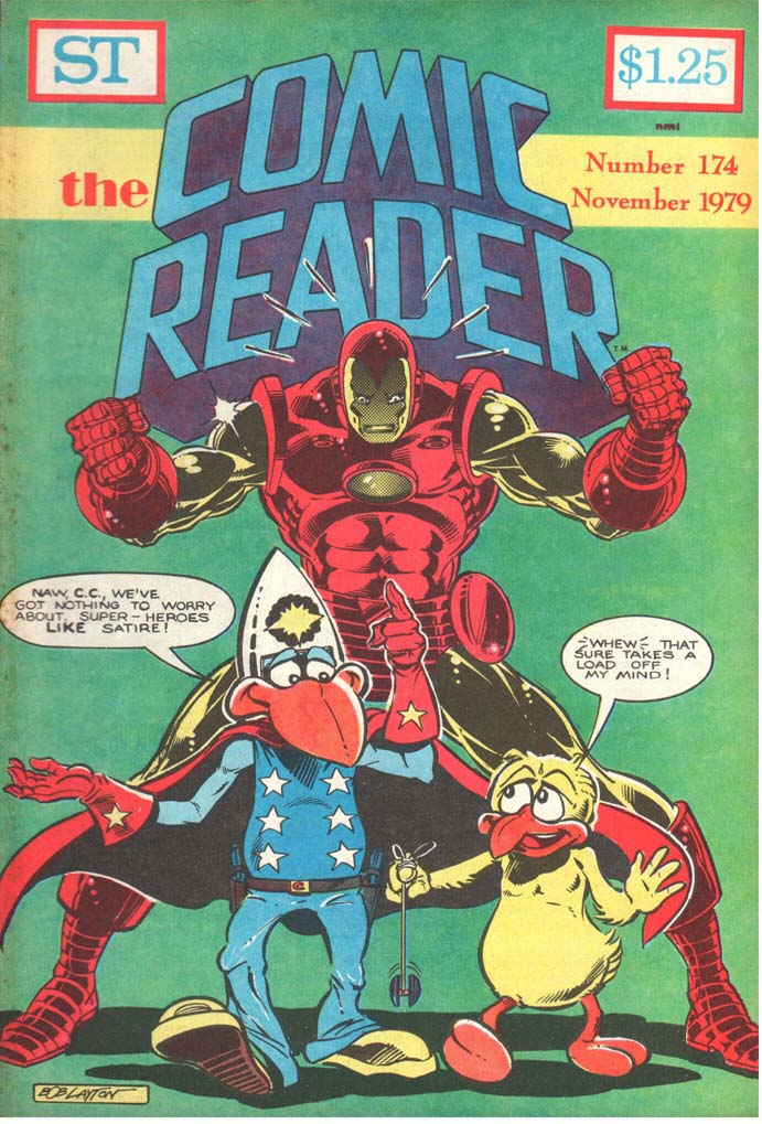 The Comic Reader (1961) #174
