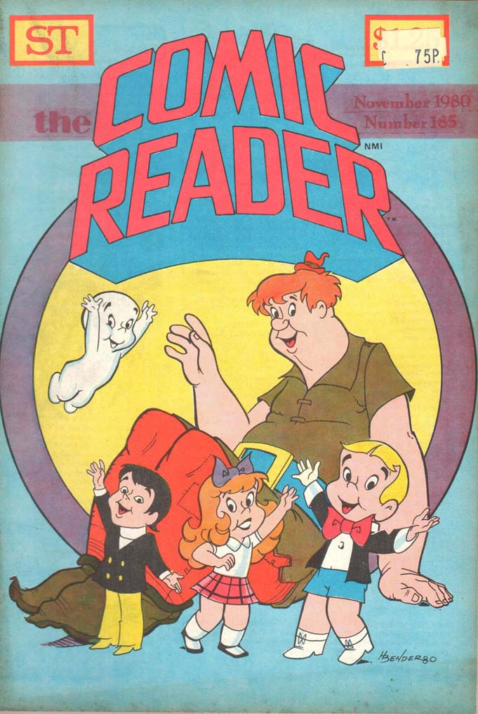 The Comic Reader (1961) #185
