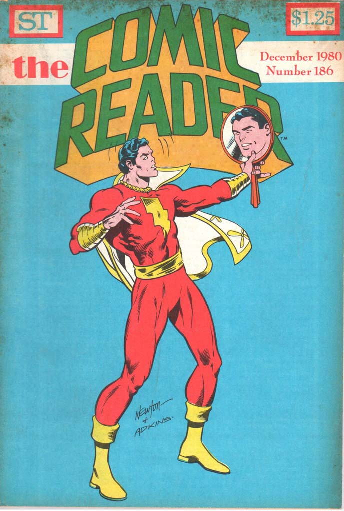 The Comic Reader (1961) #186