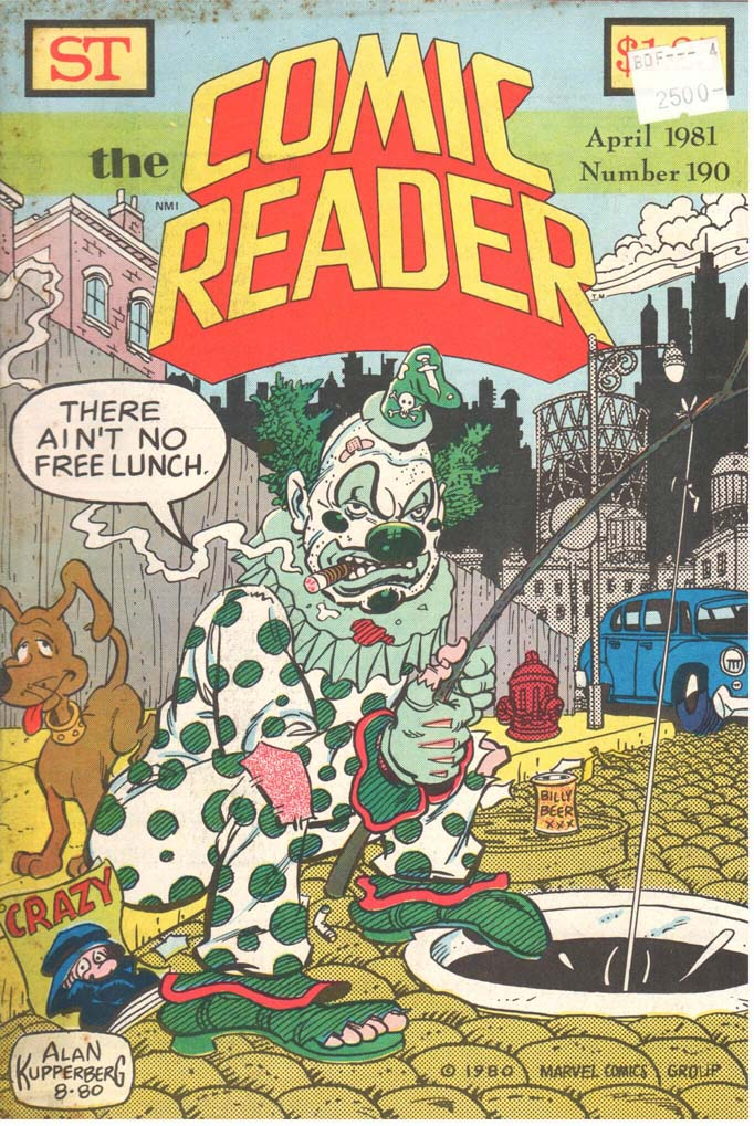 The Comic Reader (1961) #190