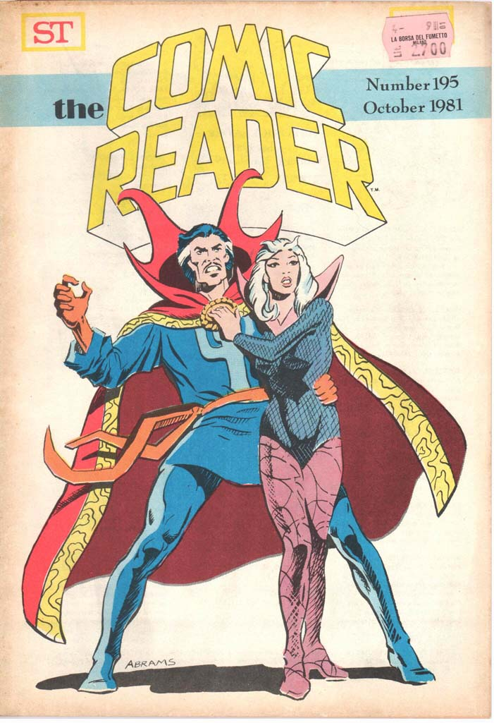 The Comic Reader (1961) #195