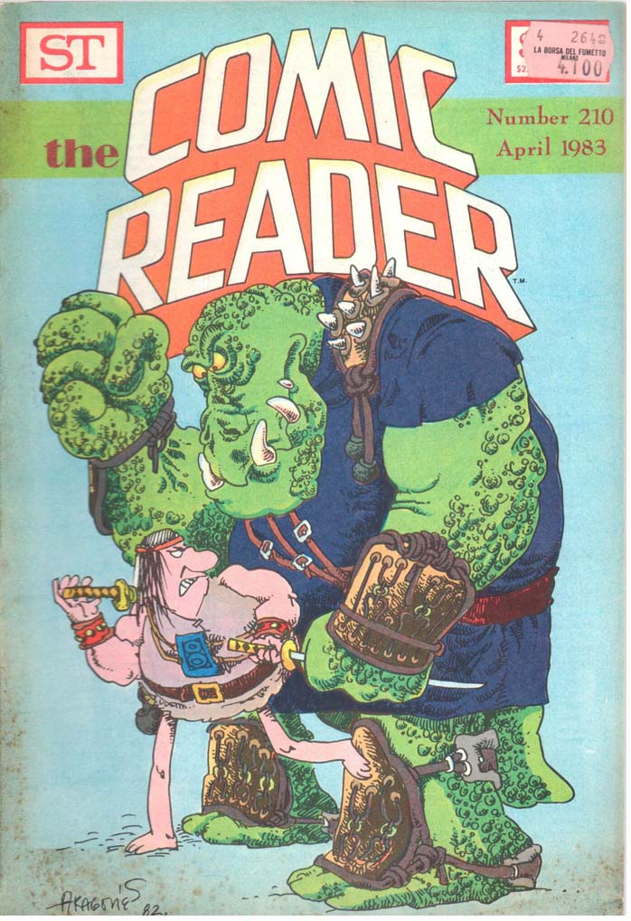 The Comic Reader (1961) #210
