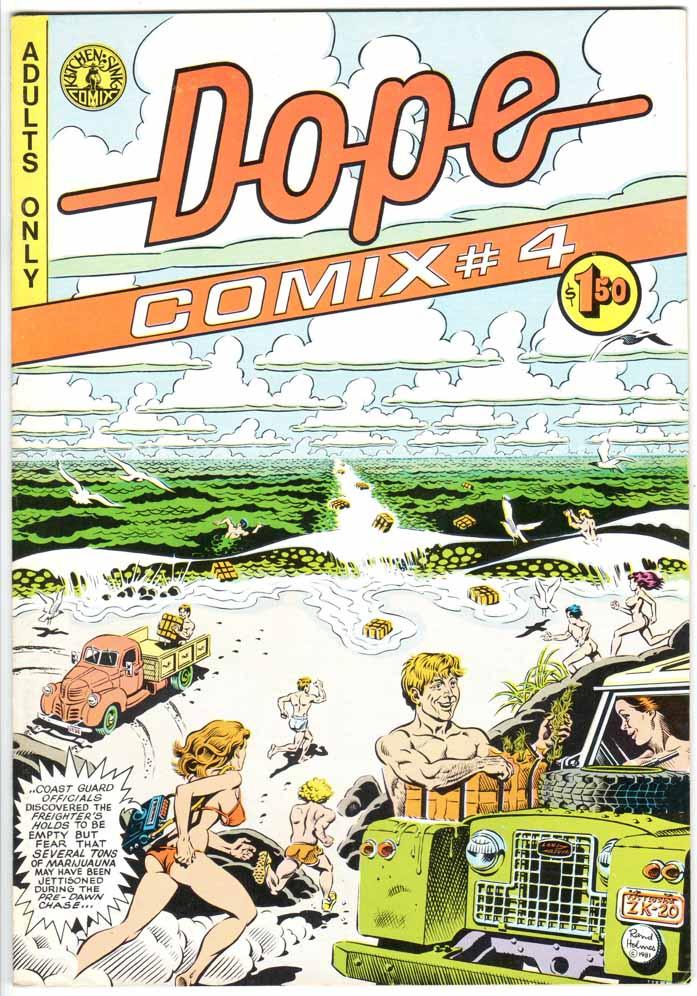 Dope Comix (1978) #4