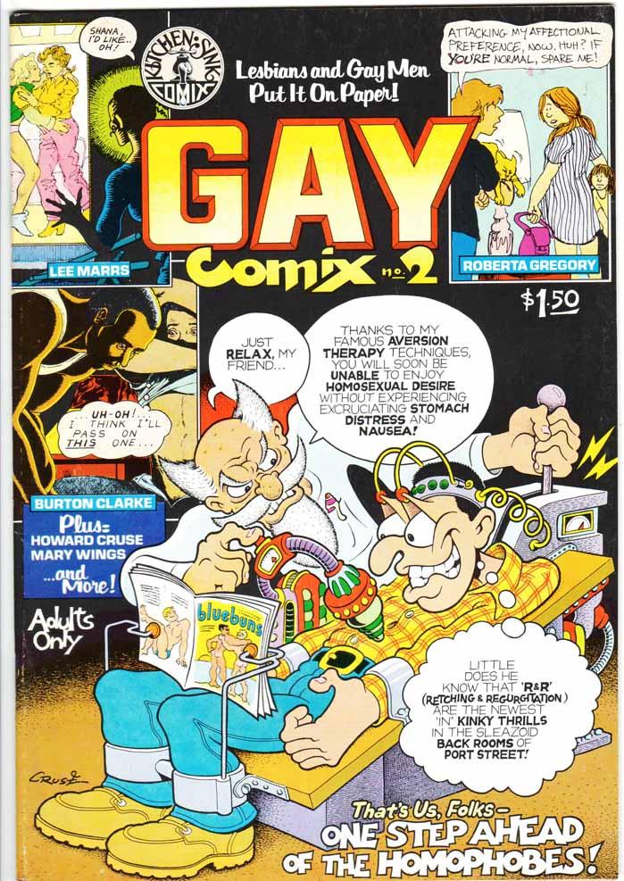 Gay Comix (1980) #2