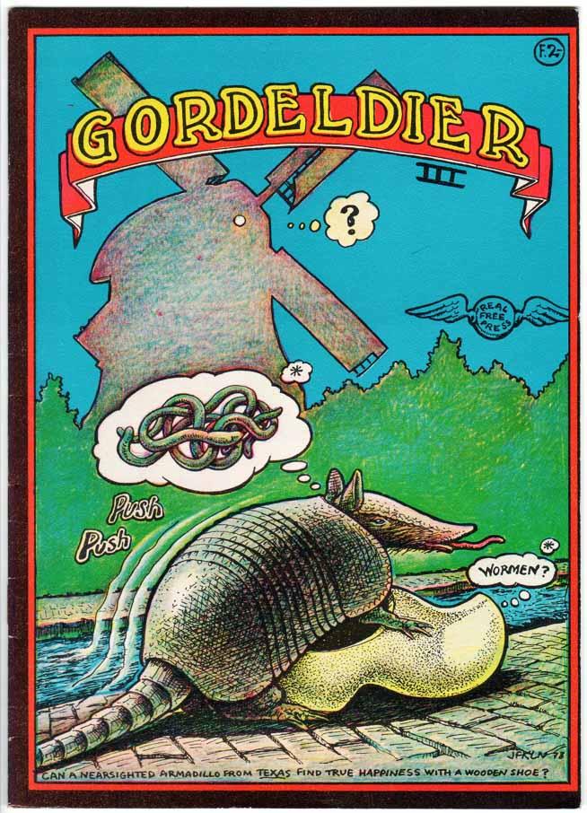 Armadillo / Gordeldier Comics (1971) #3