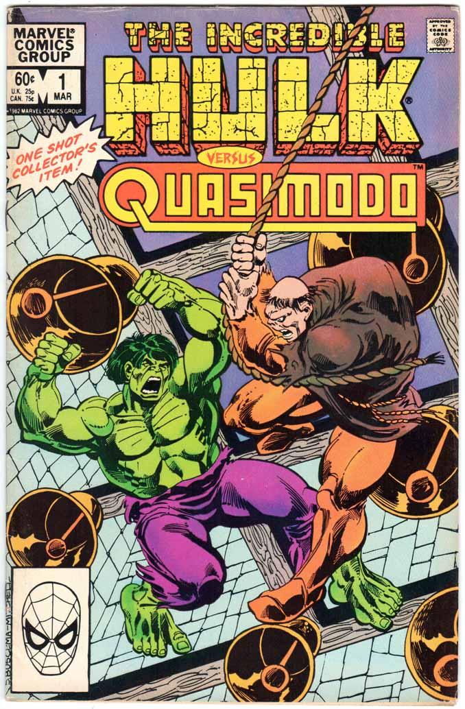 Incredible Hulk vs. Quasimodo (1983) #1