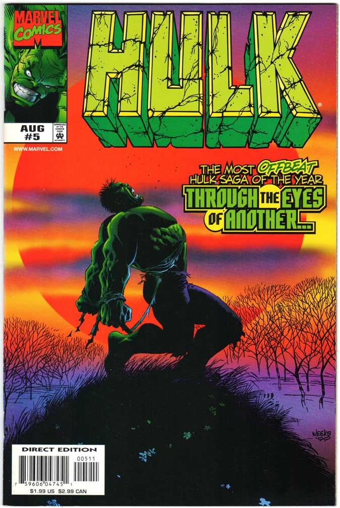 Incredible Hulk (1999) #5