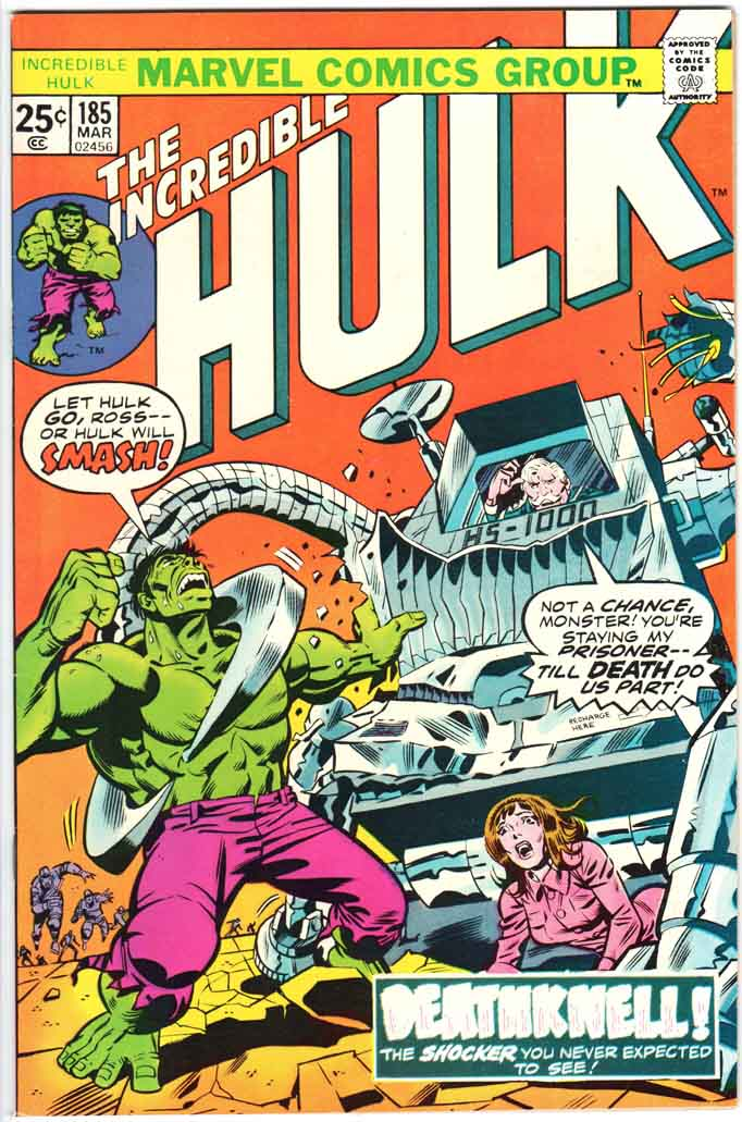 Incredible Hulk (1962) #185 MJ