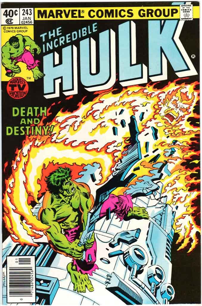 Incredible Hulk (1962) #243 MJ