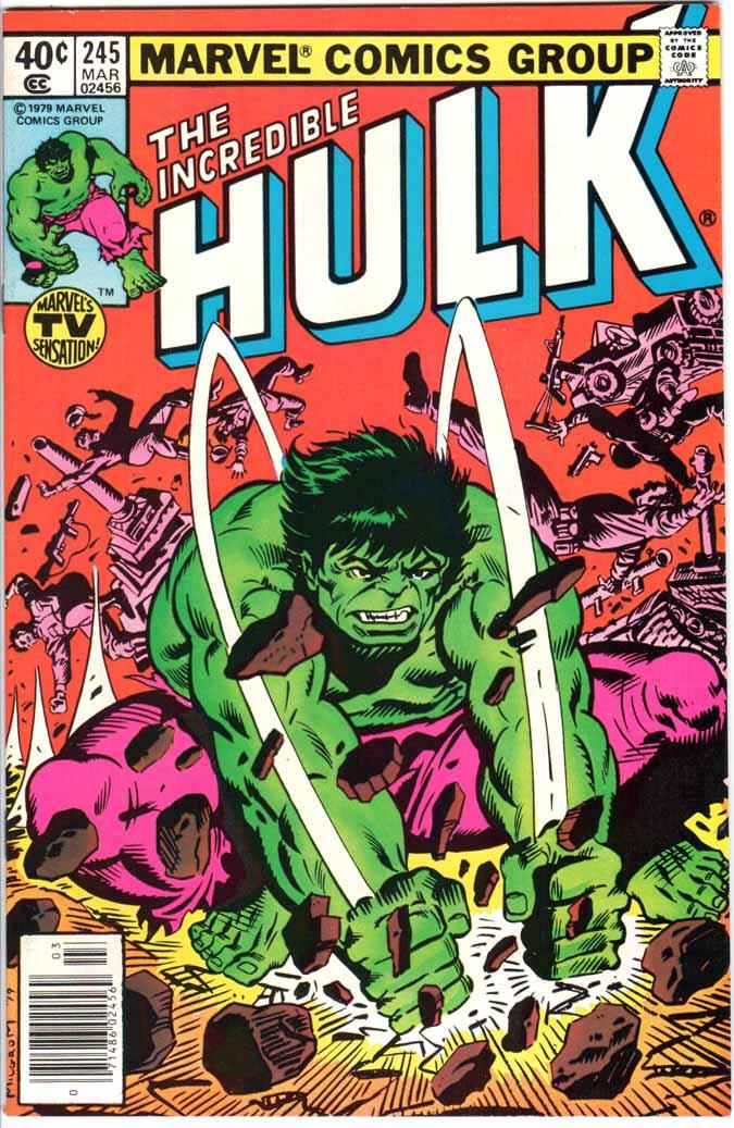 Incredible Hulk (1962) #245 MJ