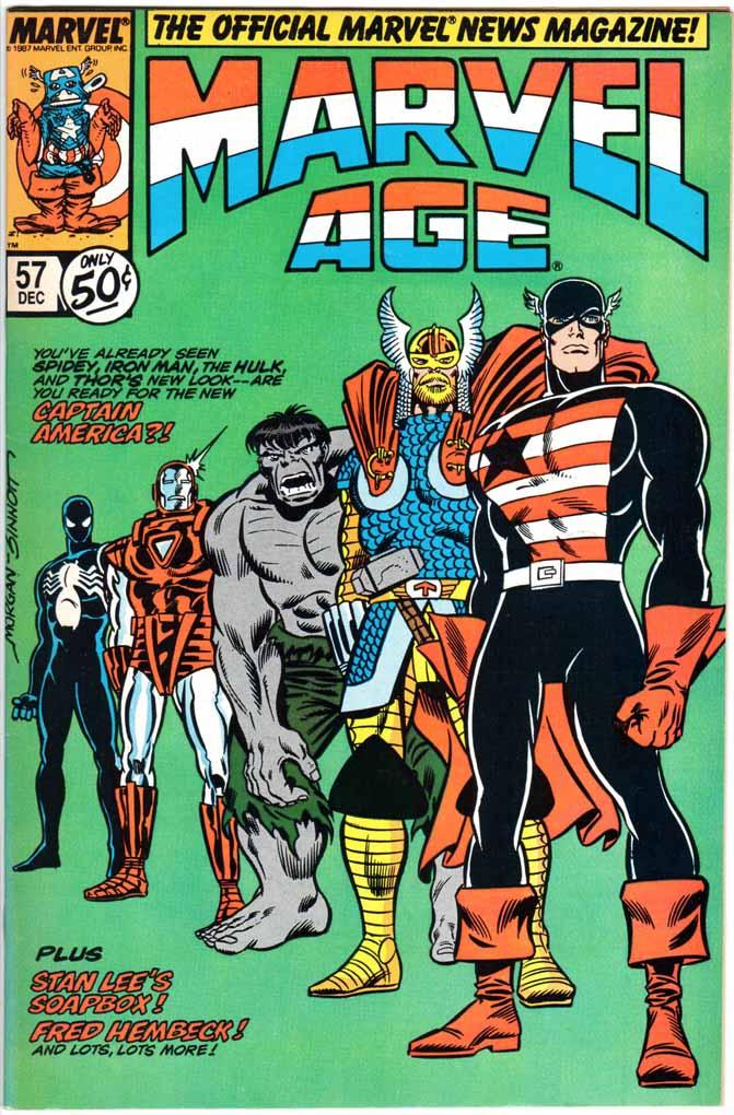 Marvel Age (1983) #57